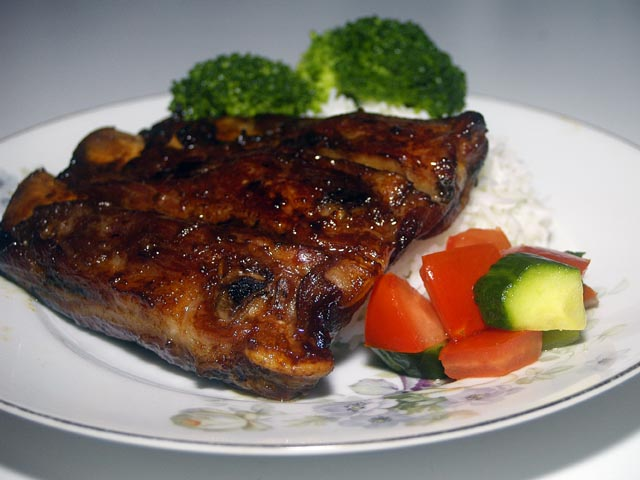 love preparing this grilled dish, the night before, allowing all the ...